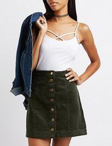 Charlotte Russe Caged Cami Tank Top