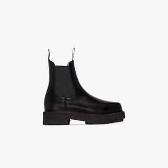 Eytys Black Ortega 50 Chelsea Boots