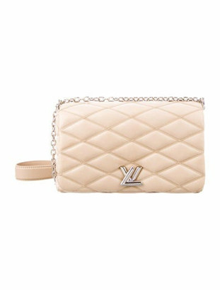 Louis Vuitton 2015 Go-14 Malletage MM Tan