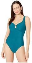 Miraclesuit Must Have 19 Escape One-Piece (Nile Blue) Women's Swimsuits One Piece
