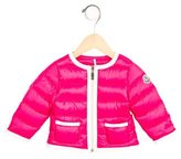 Moncler Girls' Colorblock Down Jacket