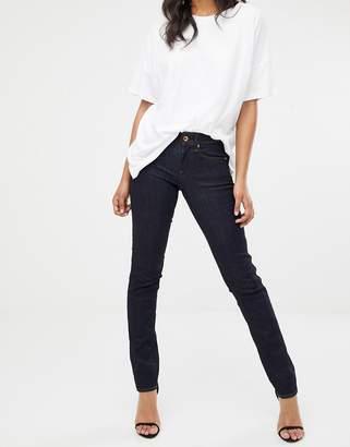 G Star G-Star midge mid rise straight leg jean in indigo-Blue