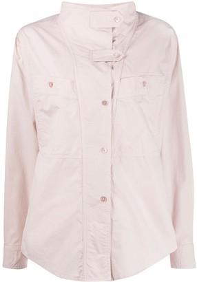 Etoile Isabel Marant Mahonia long-sleeve shirt