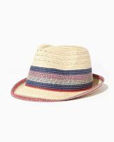 Charming charlie Billy Straw Fedora Hat