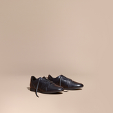 Burberry The Field Sneaker In Leather
