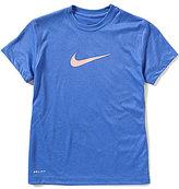 Nike Big Girls 7-16 Legend Short-Sleeve Top