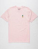 Riot Society Pineapple Embrodiery Mens T-Shirt
