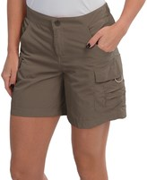 White Sierra Crystal Cove Shorts - UPF 30 (For Women)