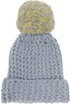 Semi-Couture Semicouture chunky knit bobble hat