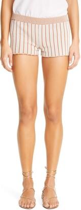 Isa Boulder Stripe Knit Shorts