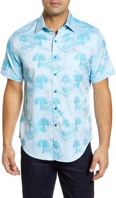 Robert Graham Pool Party Short Sleeve Button-Up Shirt