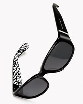 Marc By Marc Jacobs Inside Logo Sunglasses