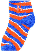 For Bare Feet New York Mets Sleep Soft Candy Striped Socks