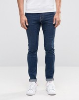 Weekday Form Super Skinny Jeans Sun