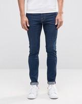 Weekday Form Super Skinny Jeans Sun