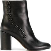 L'Autre Chose zipped ankle boots - women - Calf Leather/Leather - 36