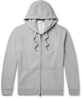 Frame Loopback Cotton-Jersey Zip-Up Hoodie