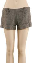 Stretch Heather Tweed Shorts