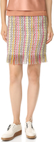 Edun Tweed Fringe Skirt