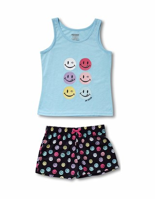 Joe Boxer Big Girl's LICKY/Winky Tank/Short Set Sleepwear
