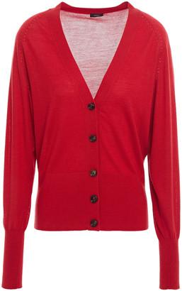 Joseph Merino Wool, Silk And Cashmere-blend Cardigan