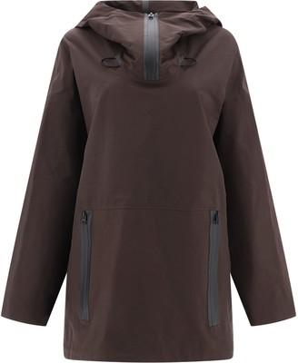 Bottega Veneta Oversized Zip Pocket Hoodie