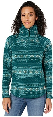 The North Face Printed Crescent Hooded Pullover