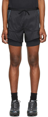 Nike Black Tech Pack 2-In-1 Running Shorts