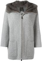 Agnona zipped coat