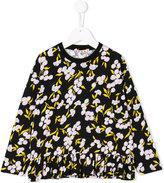 Marni printed peplum blouse