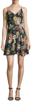 Yumi Kim Athena Silk Metallic Printed Dress