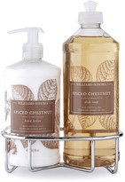 Williams-Sonoma Williams Sonoma Spiced Chestnut Hand Lotion & Dish Soap, Classic 3-Piece Set