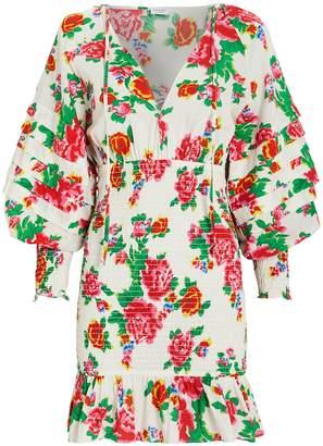 Rhode Resort Anya Smocked Floral Dress