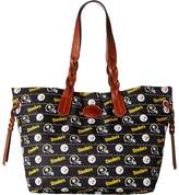 Dooney & Bourke NFL Nylon Shopper Tote Handbags