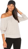 Nation Ltd. Raglan Off the Shoulder Sweater