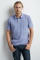 Beckham Slub Vintage Wash Polo Shirt