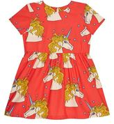Mini Rodini Unicorn Star Print Dress