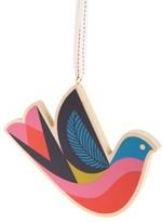 Nordstrom Wooden Bird Ornament