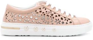 Baldinini Laser Cut Sneakers