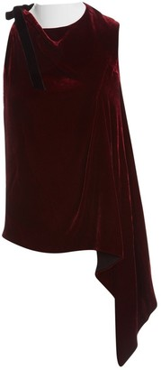 Roland Mouret Burgundy Top for Women