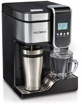 Hamilton Beach FlexBrew Programmable Single-Serve Coffeemaker with Hot Water Dispenser