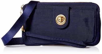 Baggallini Gold International Lisbon Rfid BLK Wristlet