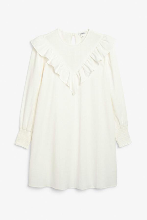 Monki Ruffle dress