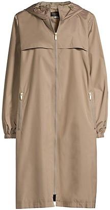 Donna Karan Urban Hooded Jacket