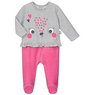 Camilla And Marc Baby Velour Pyjamas Small - Queen Size - 24 Months (92 cm)