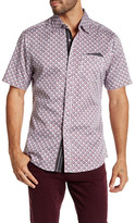 Smash Wear Tiny Checkered Short Sleeve Woven Shirt