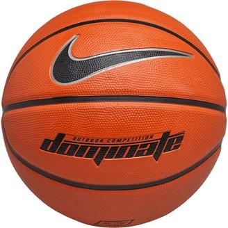 Nike Dominate Basketball Amber/Black/Metallic Platinum