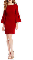 Laundry by Shelli Segal Tulip Sleeve Shift Dress