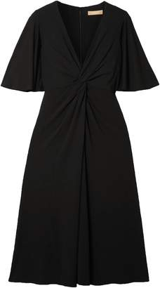 Michael Kors Twisted Stretch-crepe Dress