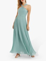 Oasis Twist Neck Maxi Dress